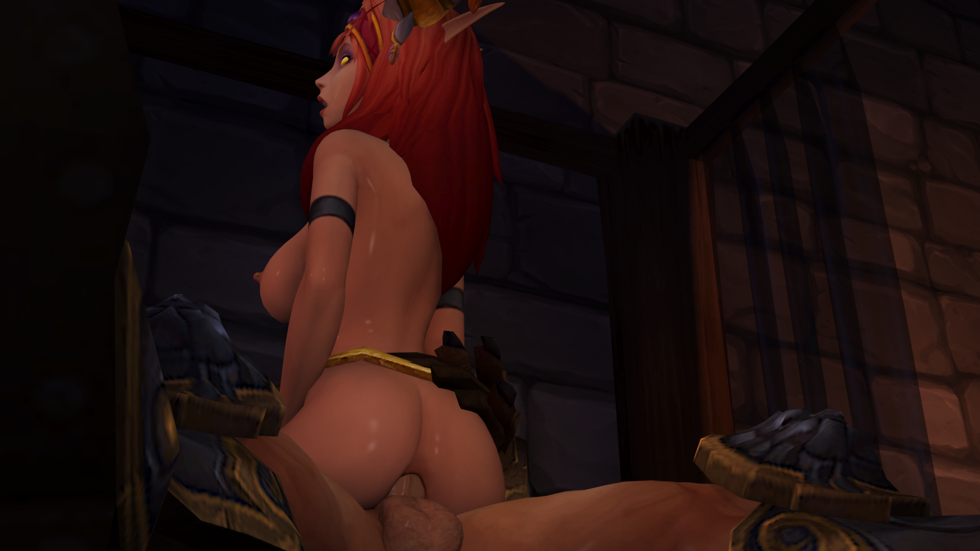 Warcraft porn alexstrasza elf game video hentai clip