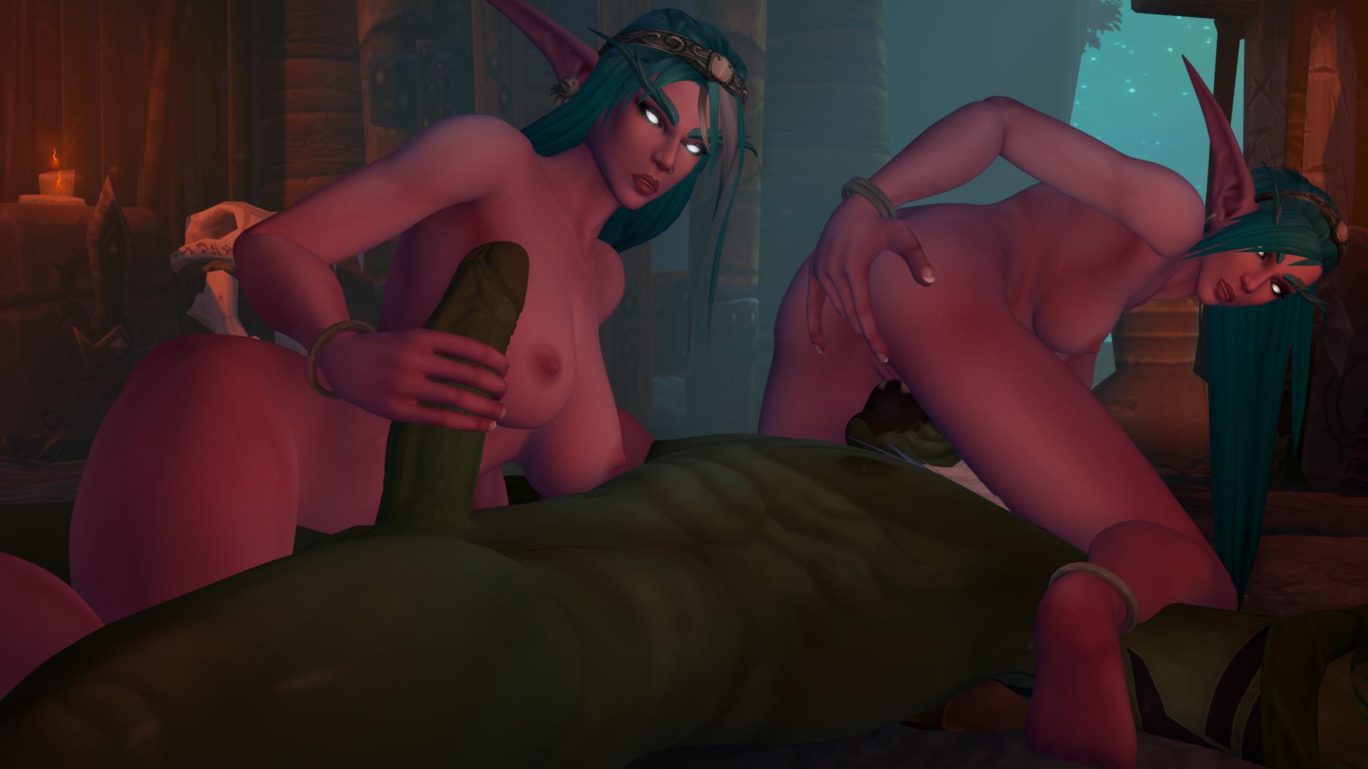 Wow night elf hardcore rape porn nude video