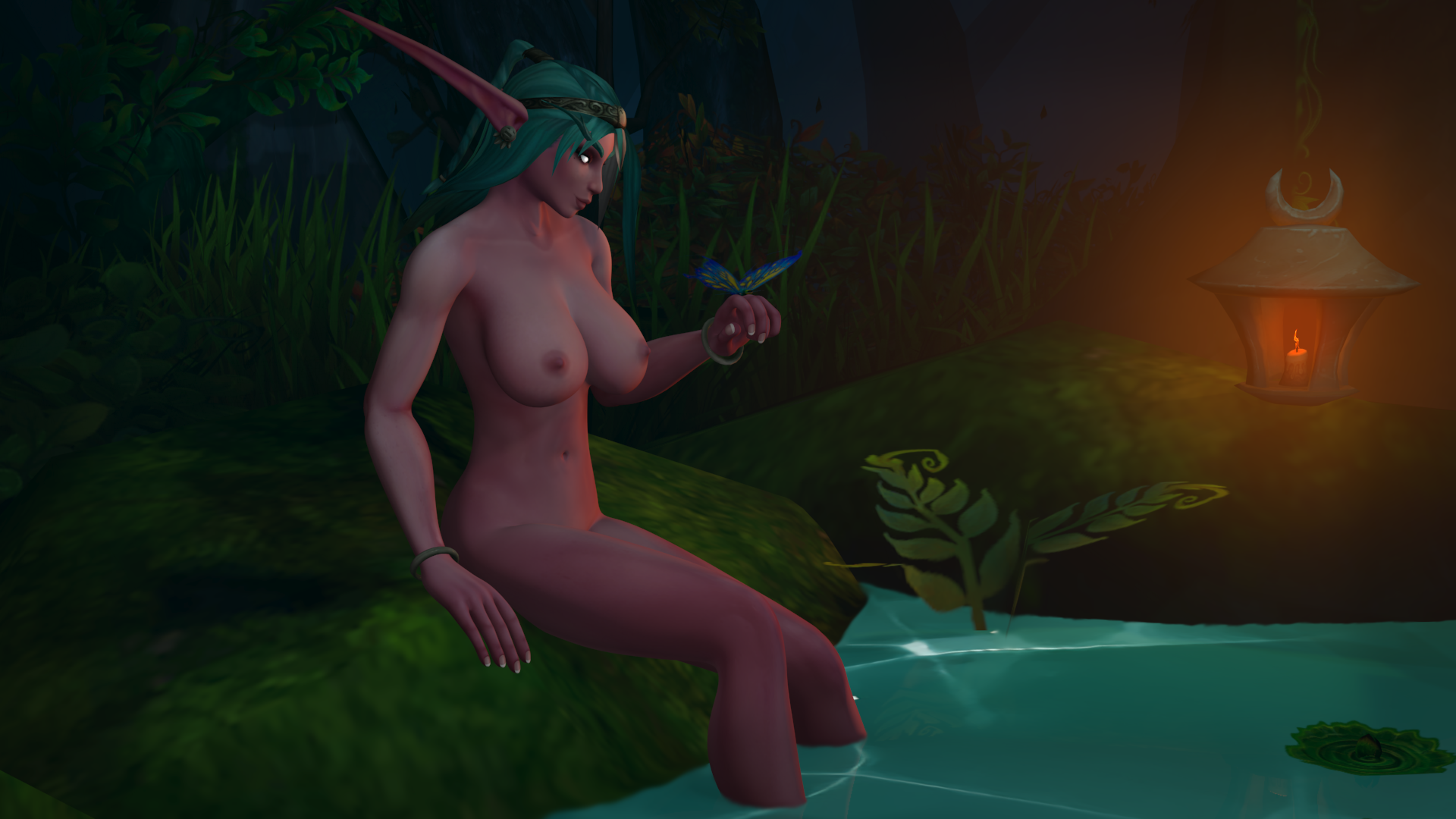 World of warcraft night elf nipple porno photo