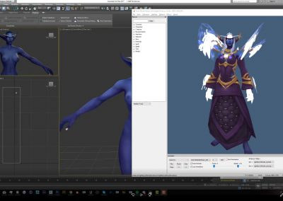 Editing npc armor/hair (Part 2 Weighting)