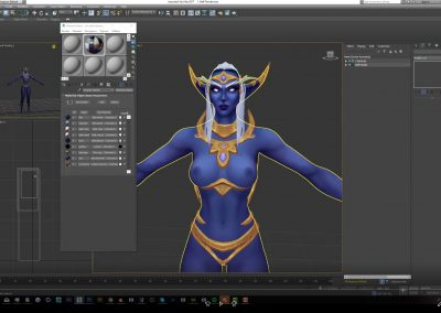 Simple texturing in Substance Painter