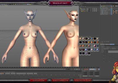 Cinema 4d pose morphs