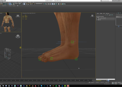 How to make a Foot Roll rig